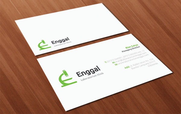 Enggal Biz Card 30+ Simple business cards For Everyone