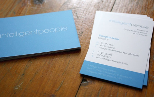 Intelligent 30+ Simple business cards For Everyone