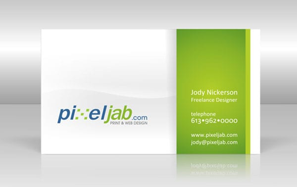 PixelJab 30+ Simple business cards For Everyone
