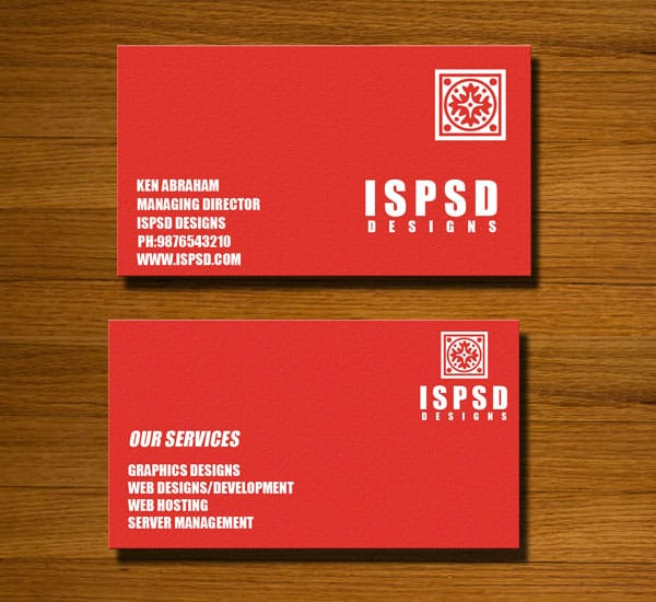 RED CARD pre Red Business Card Templates