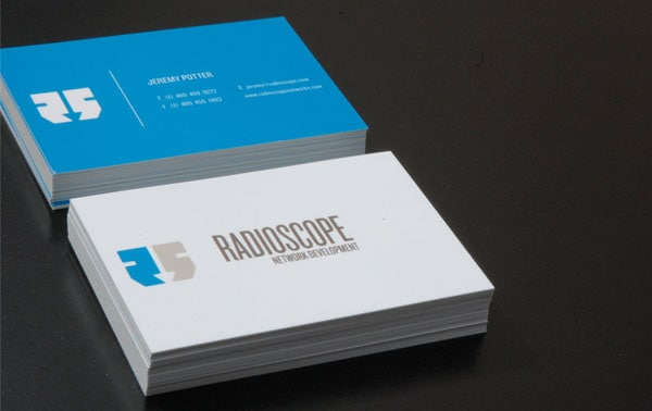 Radioscope 30+ Simple business cards For Everyone