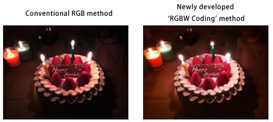 Sony-Stacked-RGBW