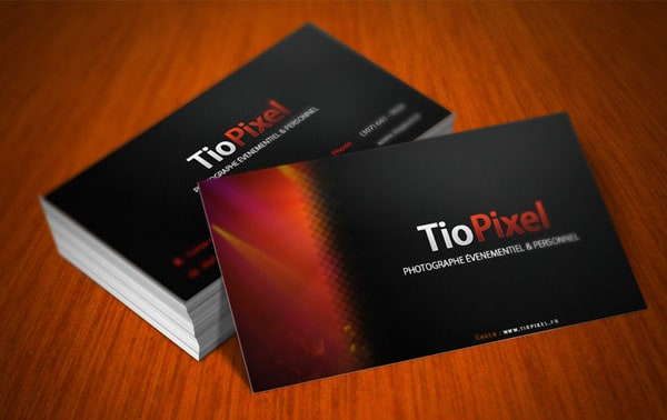 TioPixel 30+ Simple business cards For Everyone