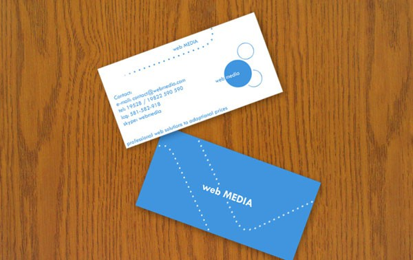blind91 30+ Simple business cards For Everyone