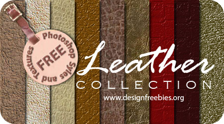designfreebies leather texture pack 30+ Awesome Leather Texture Collections