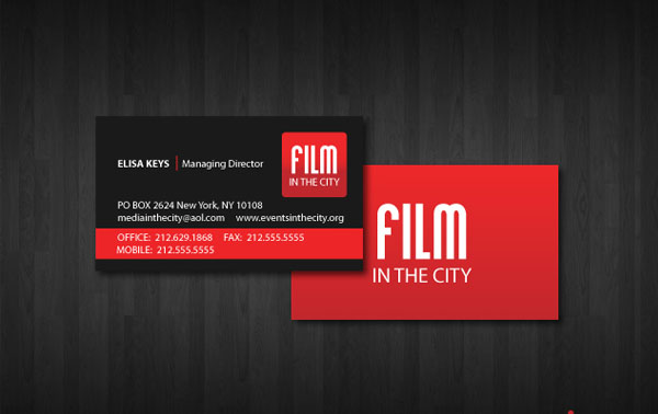 film 30+ Simple business cards For Everyone
