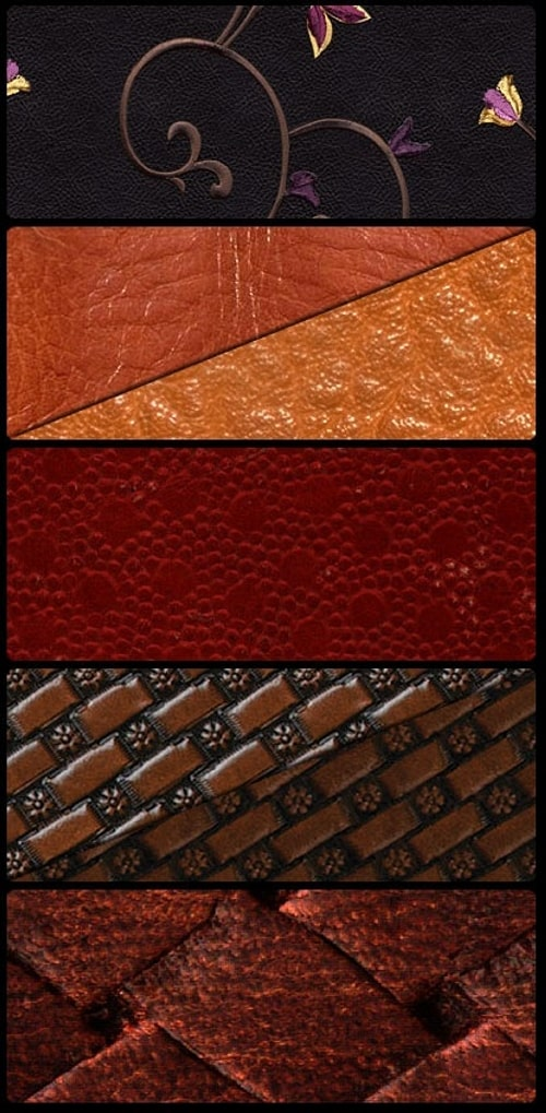 leather patterns 30+ Awesome Leather Texture Collections