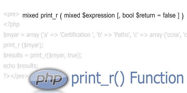 php print_r