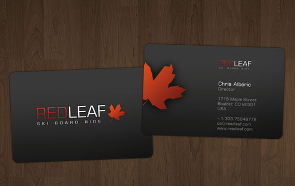 redleaf 30+ Simple business cards For Everyone