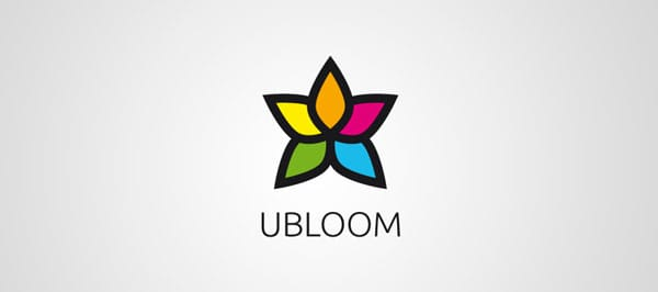 ubloom 25 Excellent Multi Colored Logos