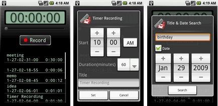 voice recorder android os freeware Top 6 Productivity Apps for Android