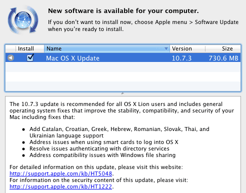 10 7 3 Mac OS X 10.7.3 Support Additional Languages