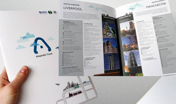 Adaptable Travel Brouchure 30 Beautiful Travel Brochure Designs