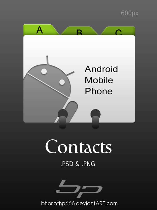 Android  Contacts 40+ Android Icons Collections