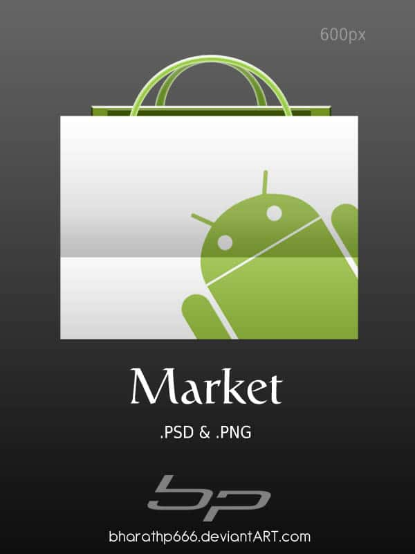 Android  Market by bharathp666 40+ Android Icons Collections