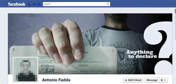 Antonio Fadda Facebook Timeline Tips and Cover Page Inspirations