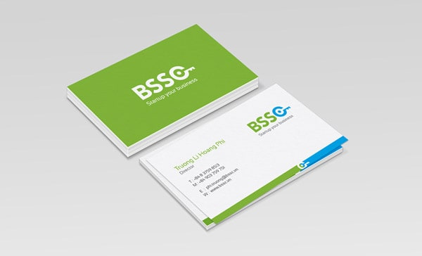 BSSC Green Business Card 50+ Green Business card Designs