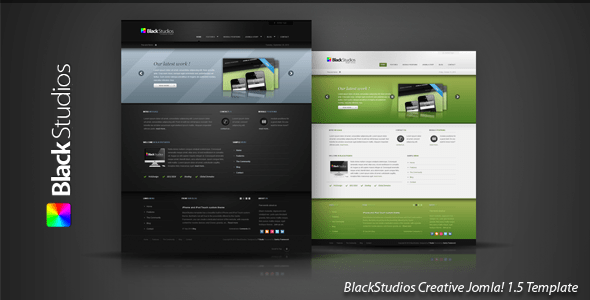 BlackStudios 25 Best Joomla Templates for Inspiration
