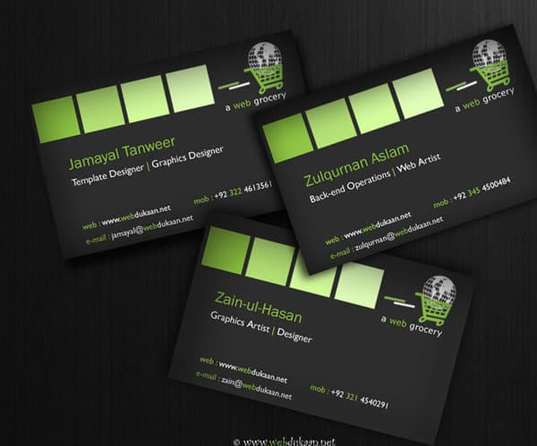 Business Cards by Jammyy 50+ Green Business card Designs