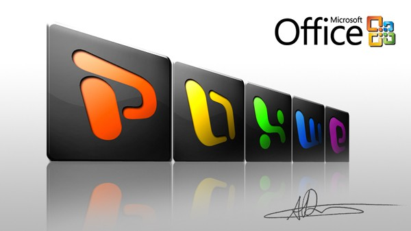 CS4 Icons - Office - Dark