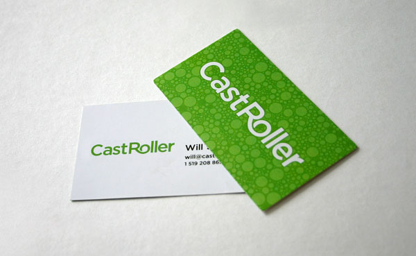 CastRoller Business Cards 50+ Green Business card Designs