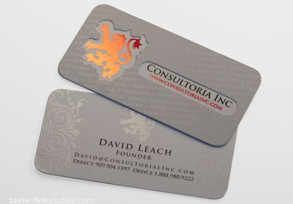 Consultoria Doublethick Business Card