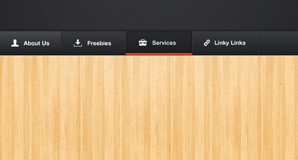 Darky Navigation PSD 40 Free Website Navigation Menu Bar PSDs