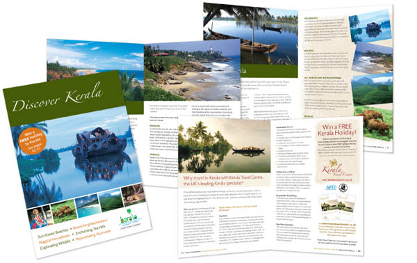 Discover Kerala Brochure 30 Beautiful Travel Brochure Designs