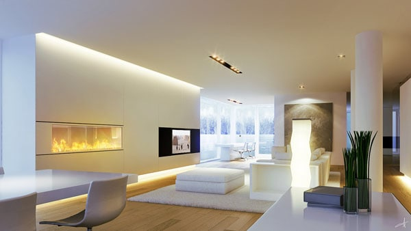 Dolomites House Gallery VII 30+ Living Room Designs for your Sweet Home