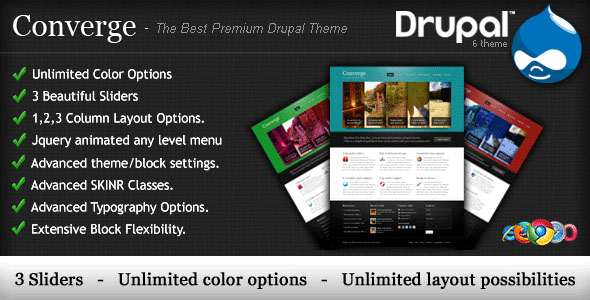 Drupal Themes 9 20+ Premium Drupal Templates
