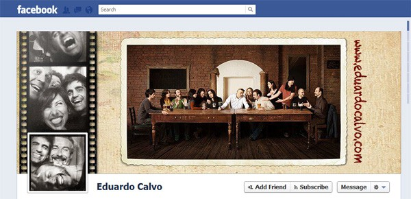 Eduardo Calvo Facebook Timeline Tips and Cover Page Inspirations