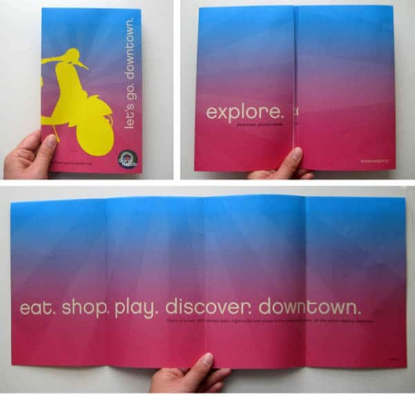 Erin Waineo 30 Beautiful Travel Brochure Designs