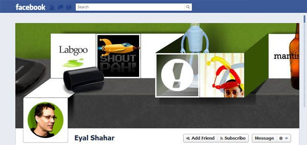 Eyal Shahar Facebook Timeline Tips and Cover Page Inspirations