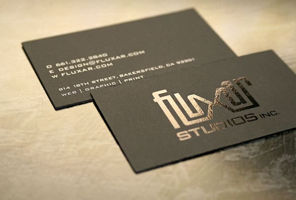 Fluxar Business Card 30+ Luxury Business Cards