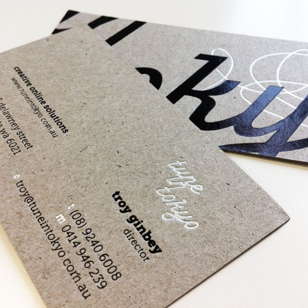 Foil On Boxcard 30+ Luxury Business Cards