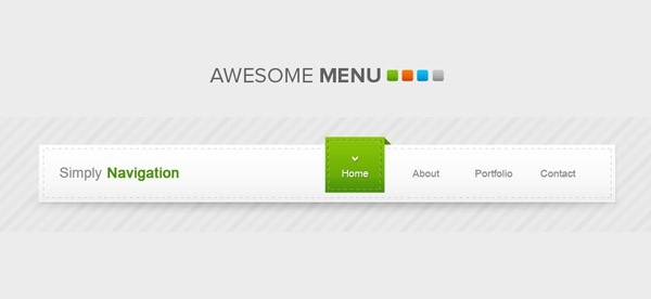 Free PSD Source 40 Free Website Navigation Menu Bar PSDs