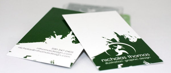 Green Business Cards 50+ Green Business card Designs