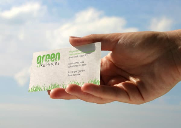 Green Services 50+ Green Business card Designs