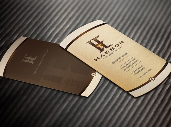 Harbor Electric Business Cards 30+ Luxury Business Cards