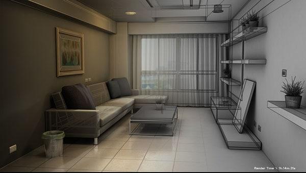 Interior 3D-Design