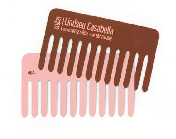 Lindsey Casabella stylist Business card