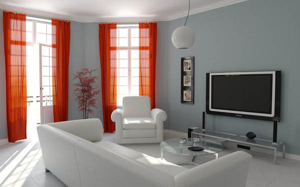 Living Room 3d Design