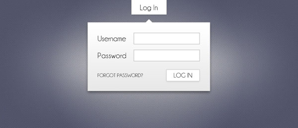Login Modal 30 Free PSD Login Page Templates