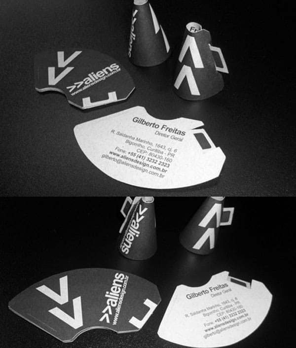 Megaphone Business Cards