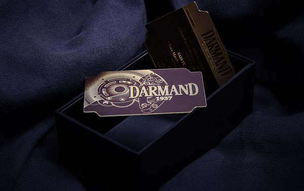 Metal Card Darmand 1937 30+ Luxury Business Cards