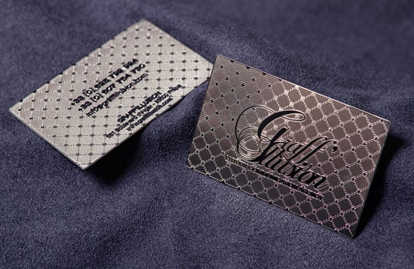 Metal Card GraffIllusion 30+ Luxury Business Cards