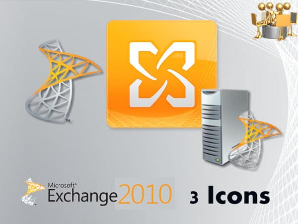 Microsoft Exchange 2010 20+ Free Microsoft Office PNG Icons