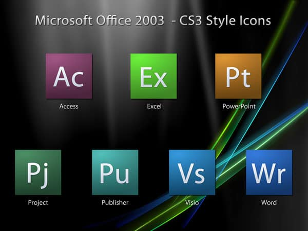 Microsoft Office - CS3 Icons