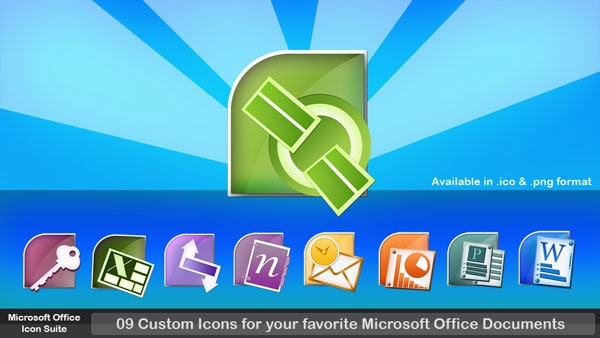 Microsoft Office Icon Suite