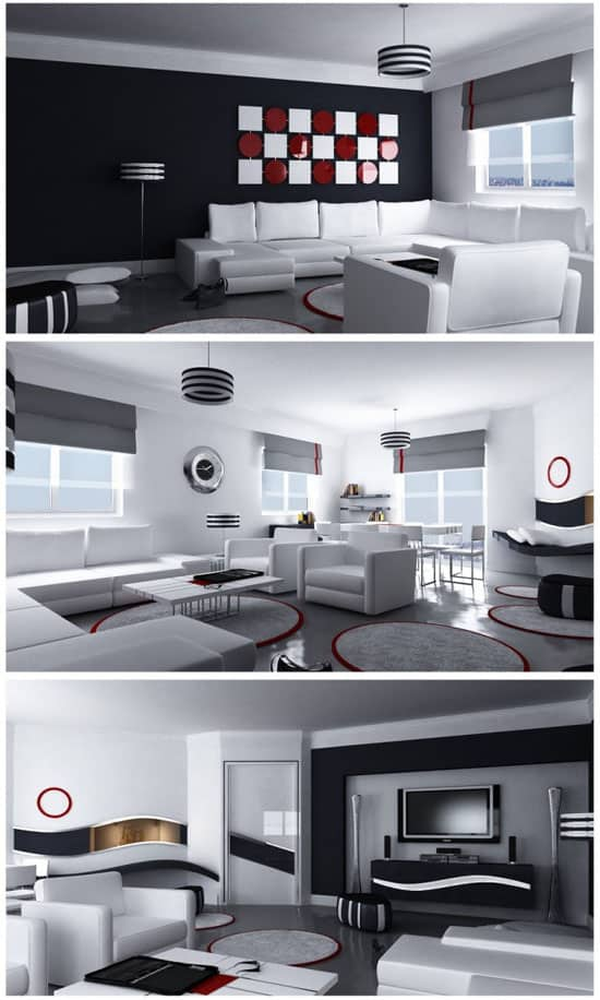 Moderne Great Room By Emra Hozer 30+ Living Room Designs for your Sweet Home